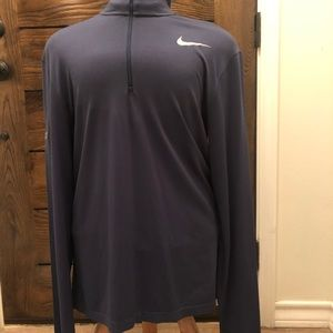Nike Mens Dri-Fit pullover (navy blue)